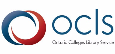 OCLS Ontario Colleges Library Service logo.